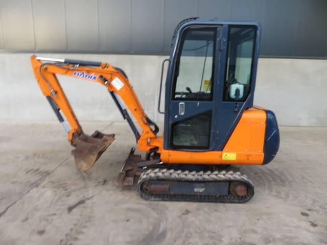 Hanix H 15 B plus 2, Mini excavadoras < 7t, Construcción