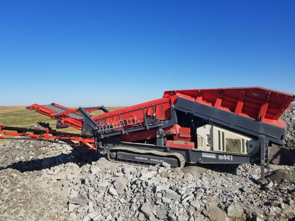 Sandvik QE441, Mobile screeners, Construction Equipment