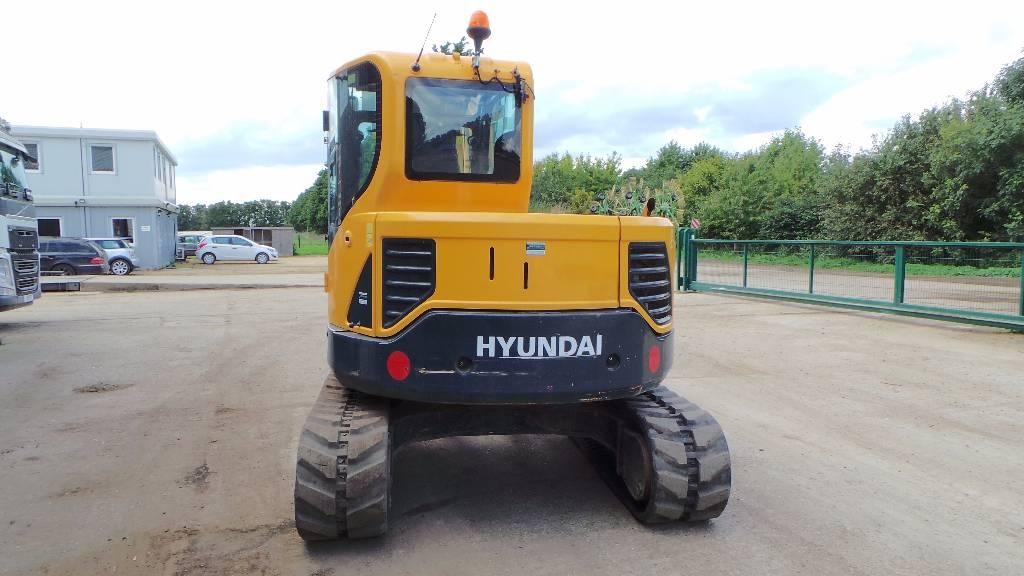 Hyundai Robex 80 CR-9, Midi excavators  7t - 12t, Construction