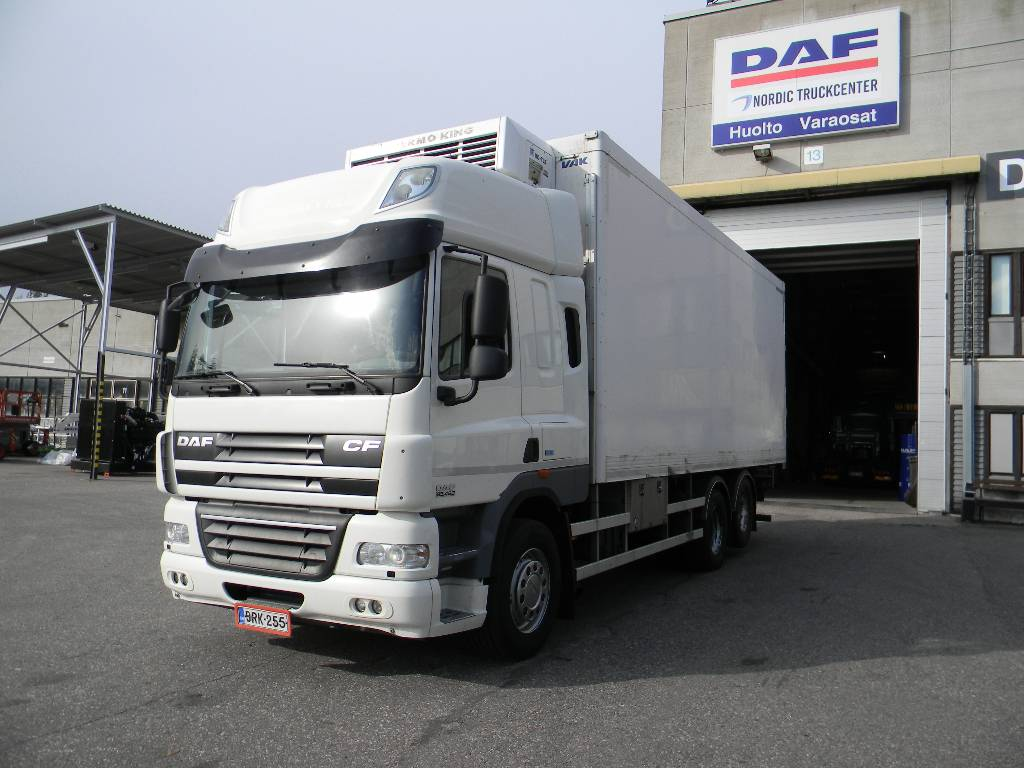 DAF CF85.460, Box trucks, Trucks and Trailers