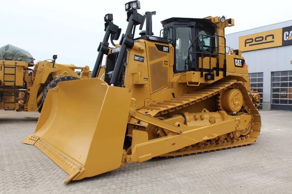 Caterpillar D9T, Bulldozers, Bouw