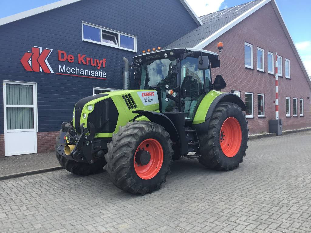 CLAAS Arion 650, Tractors, Agriculture