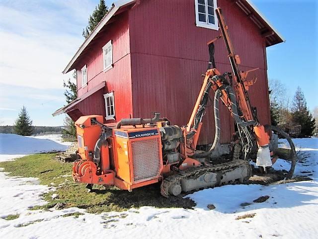 Sandvik Dino 560, Borrutrustning för ytborrning, Entreprenad