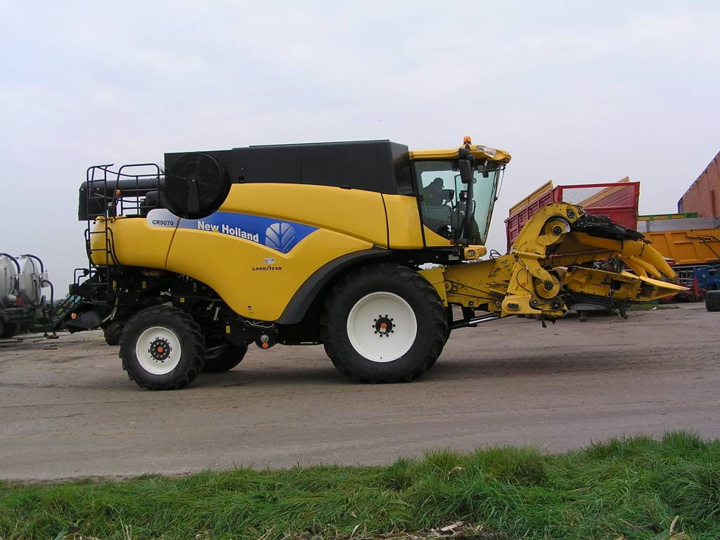 New Holland CR 9070 Elevation, Maaidorsmachines, Landbouw