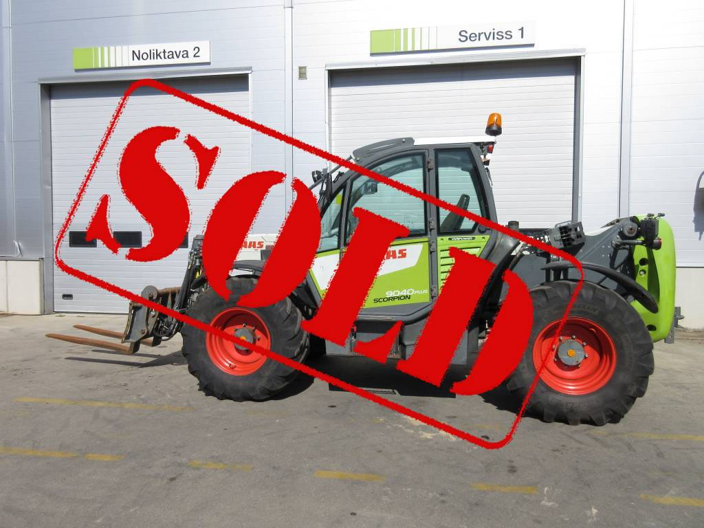 CLAAS Scorpion 9040, Telehandlers for agriculture, Agriculture