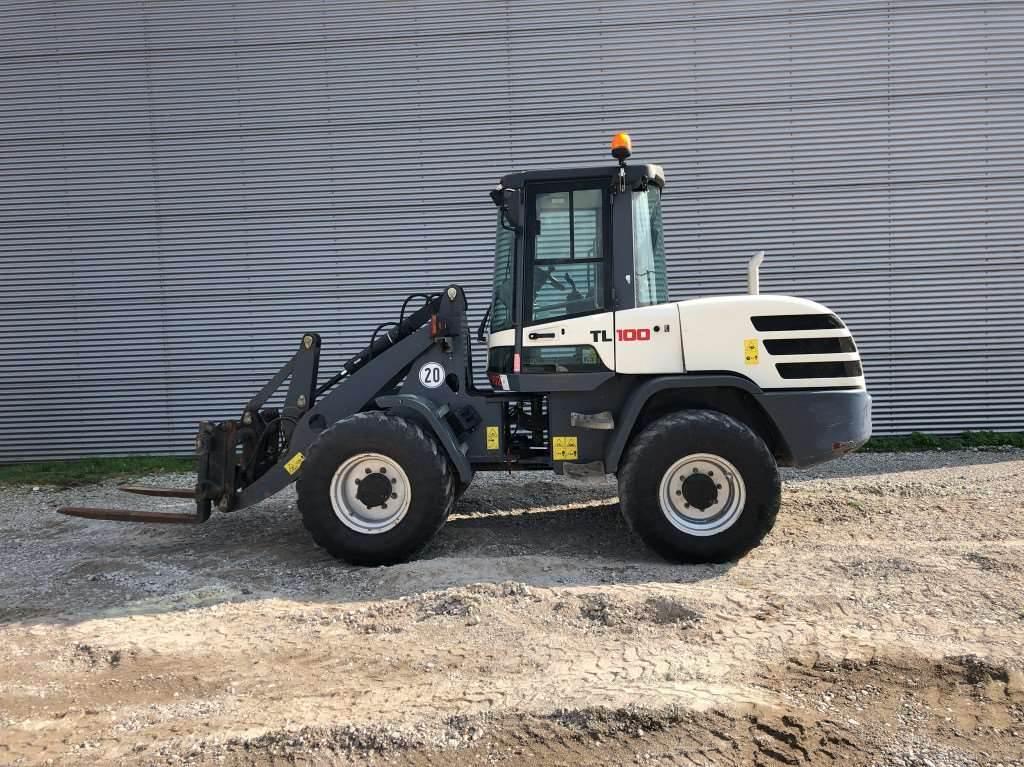 Terex TL100, Wheel Loaders, Construction
