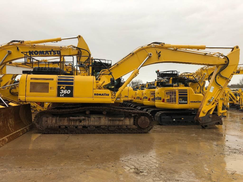Komatsu PC360LC-10, Crawler Excavators, Construction Equipment