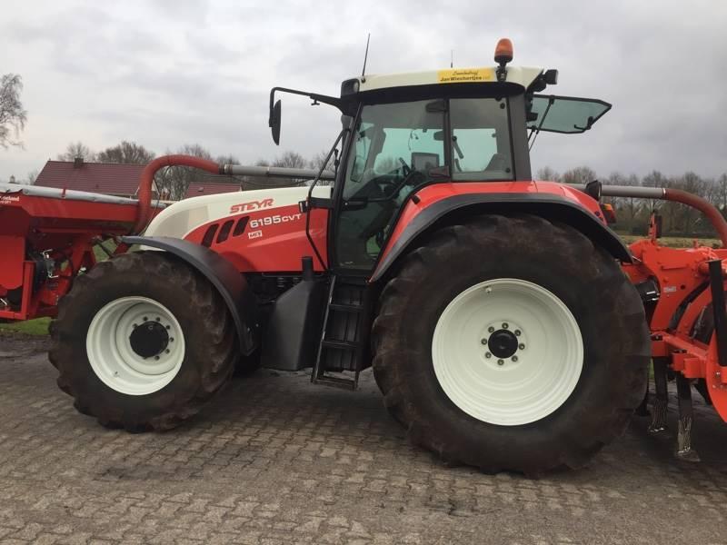 Steyr CVT 6195, Tractoren, Landbouw