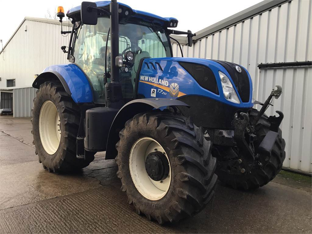 New Holland T7 210 - Tractors - Agriculture - Russell Group
