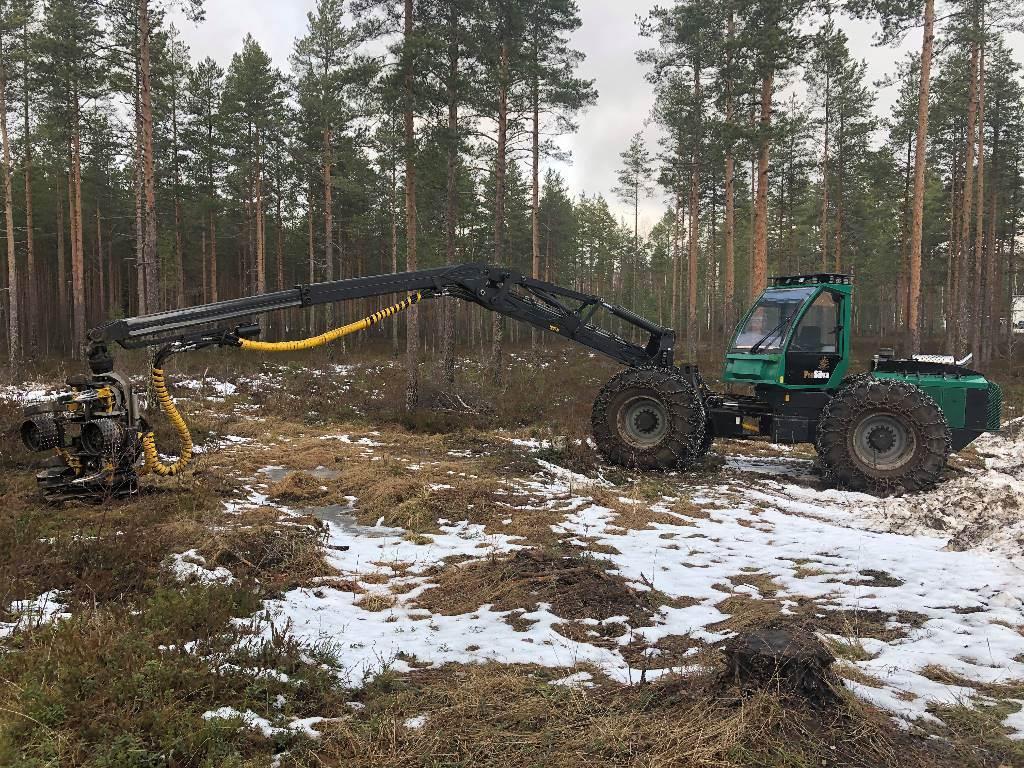 Prosilva S4, Harvesters, Forestry