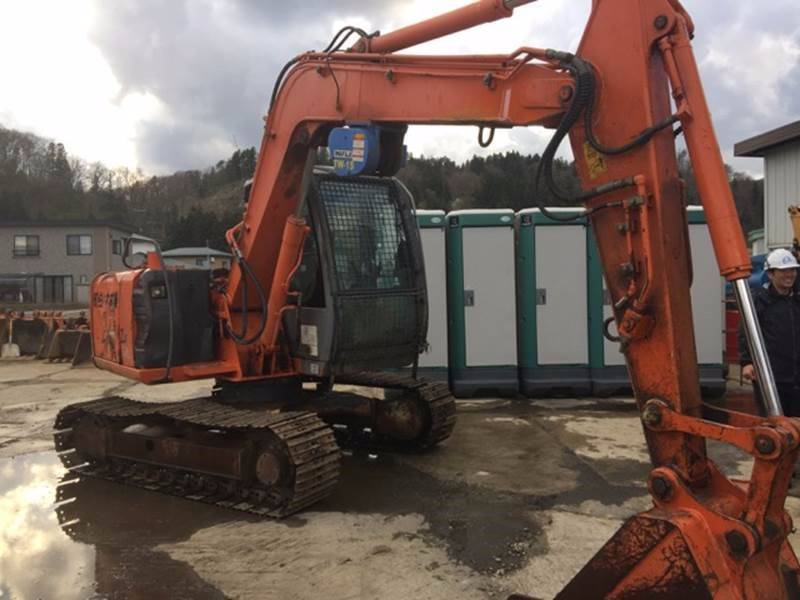 Hitachi ZX70, Midi excavators  7t - 12t, Construction