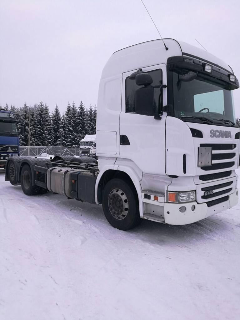 Scania R480, Vaihtolava-autot, Kuljetuskalusto