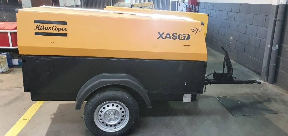 Atlas Copco XAS 67 DD, Compresores, Construcción