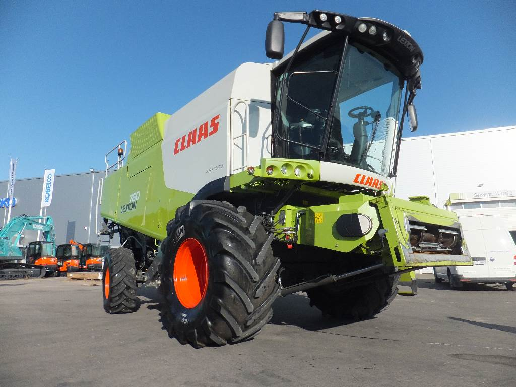 CLAAS Lexion 760, Combine harvesters, Agriculture