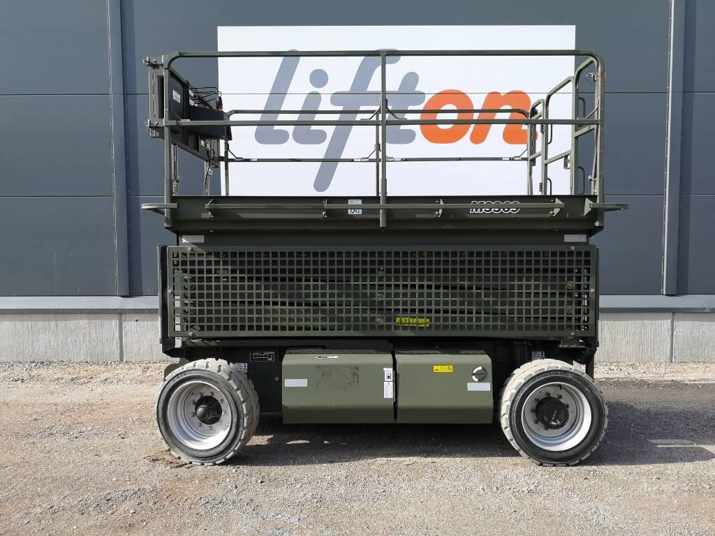 JLG M 3369, Saxliftar, Entreprenad