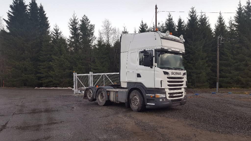 Scania R 500 6x2, Vetopöytäautot, Kuljetuskalusto