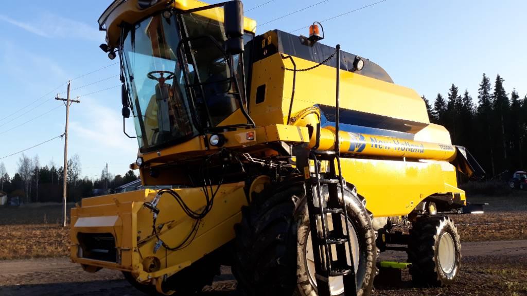 New Holland TC5060, Leikkuupuimurit, Maatalous