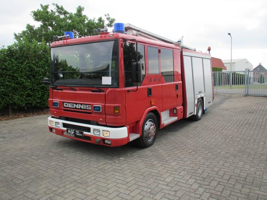 Dennis Rapier, Fire trucks, Transportation
