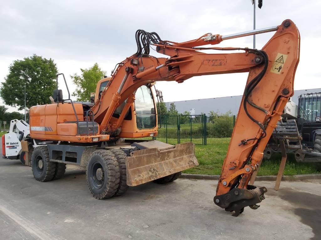 Doosan DX160W, Wheeled Excavators, Construction Equipment