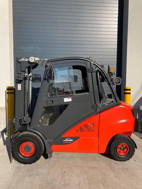 Linde H35D/393, Diesel trucks, Material Handling