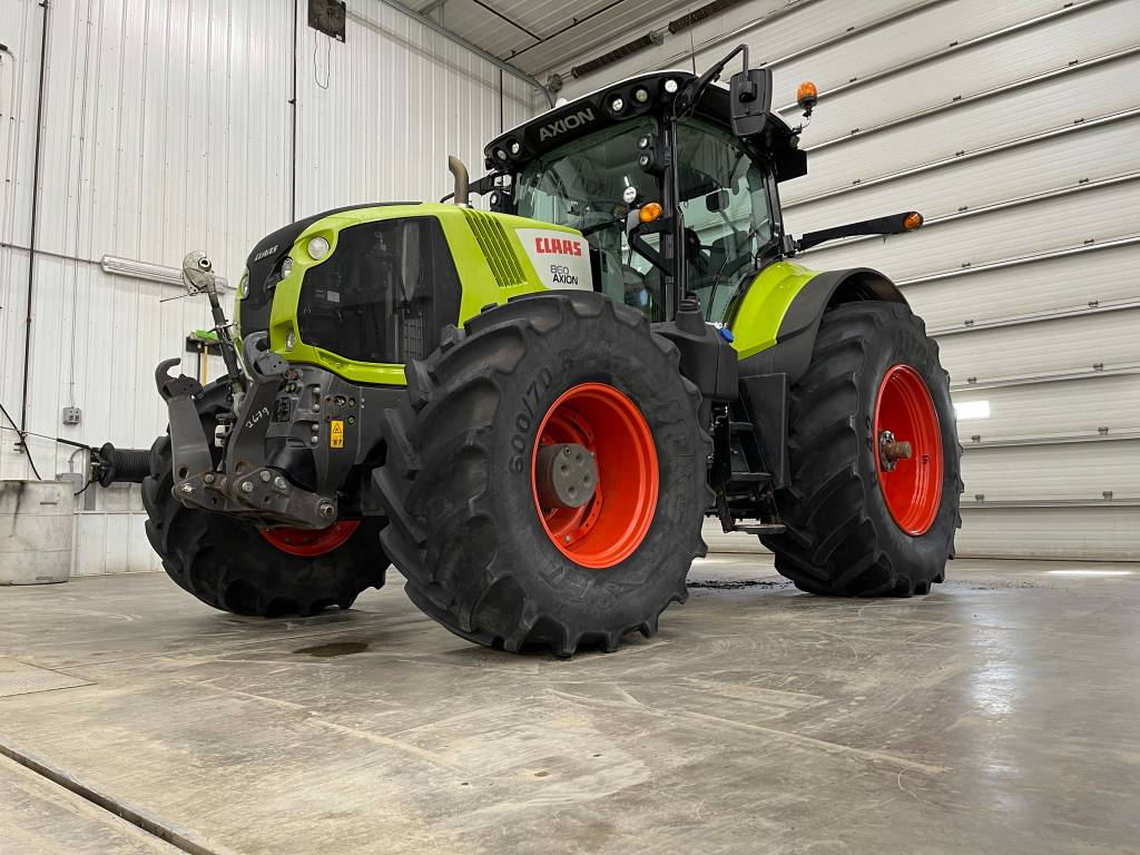 CLAAS Axion 860, Tractors, Agriculture