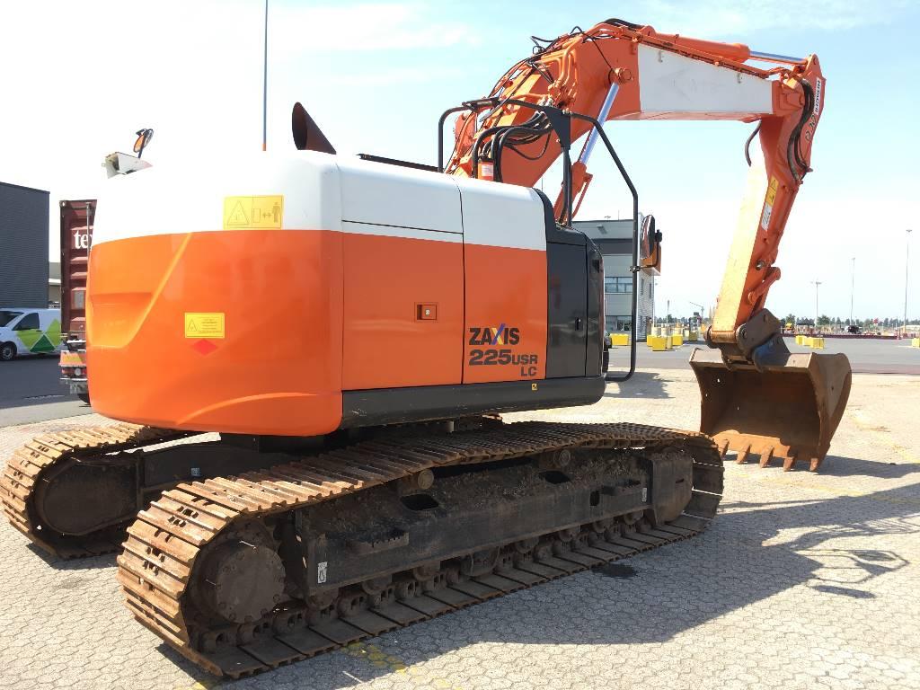 Hitachi ZX225USRLC-5B, Crawler Excavators, Construction Equipment