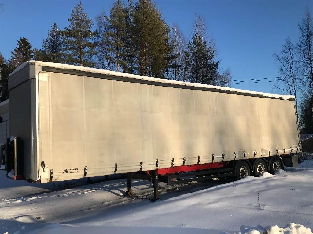 Kögel Maxx 3 aks nouseva katto, Pressukapellipuoliperävaunut, Kuljetuskalusto