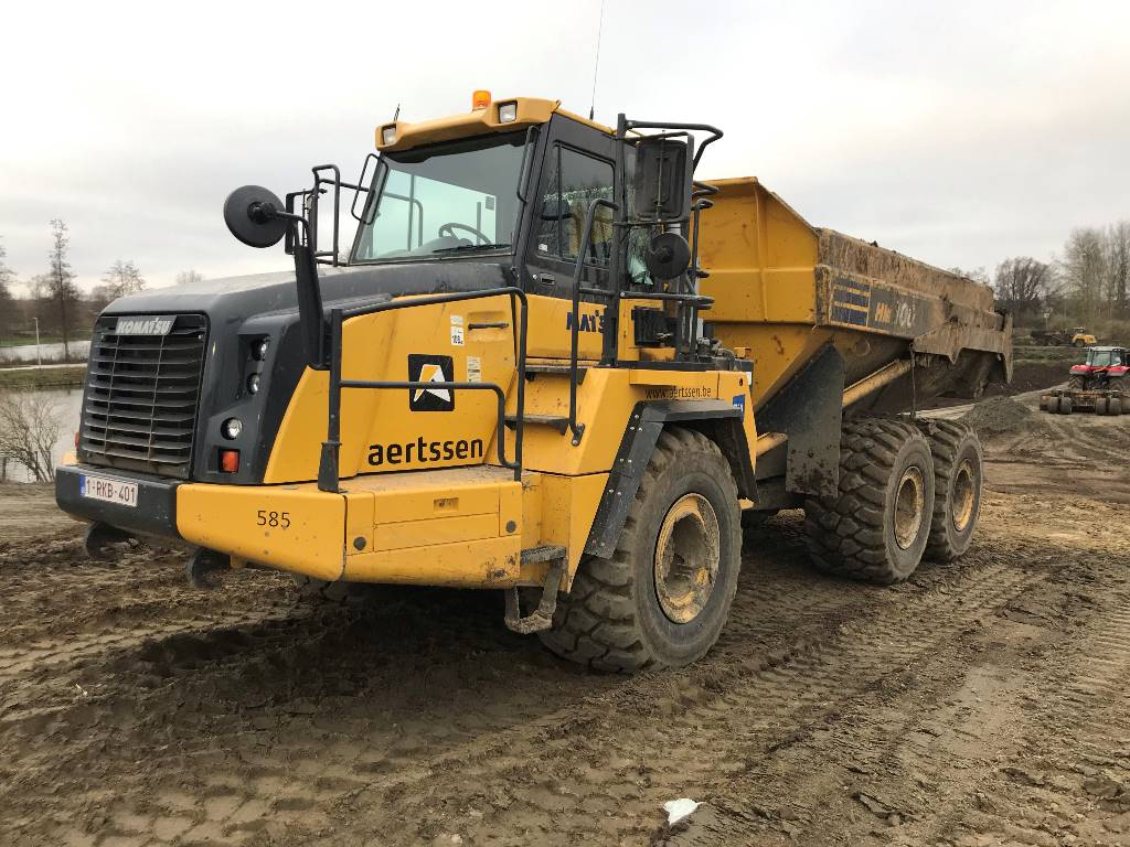 Komatsu HM 300-3 (3pc), Articulated Dump Trucks (ADTs), Construction
