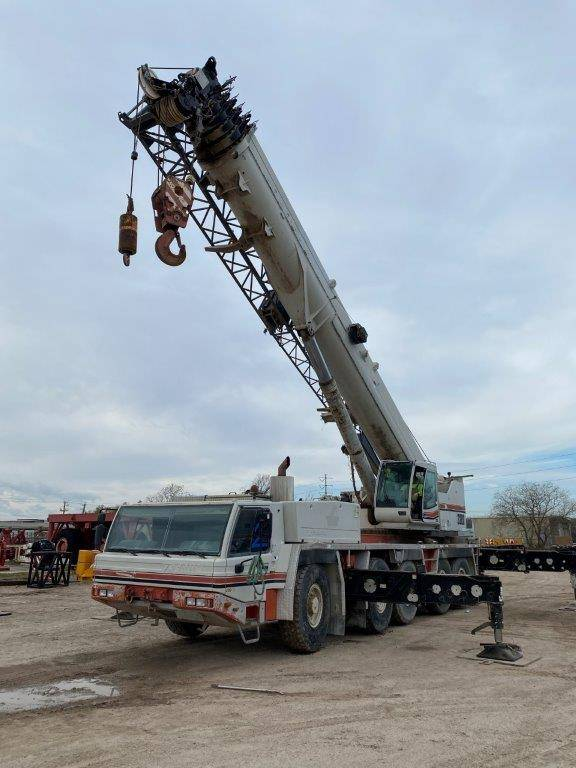 Link-Belt ATC3200, All Terrain Cranes and Hydraulic Truck Cranes, Construction Equipment