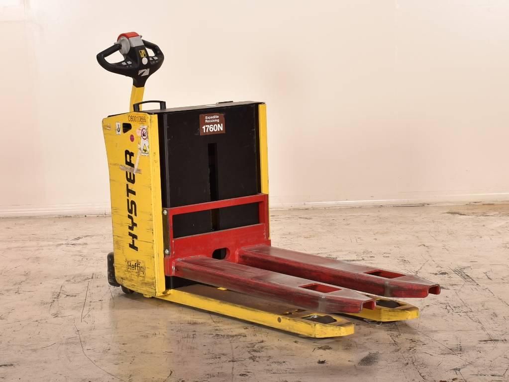 Hyster p2.0hl, Elektrische heftrucks, Laden en lossen