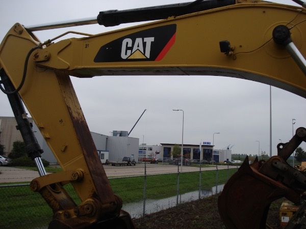 Caterpillar 336D LME, Crawler excavators, Construction
