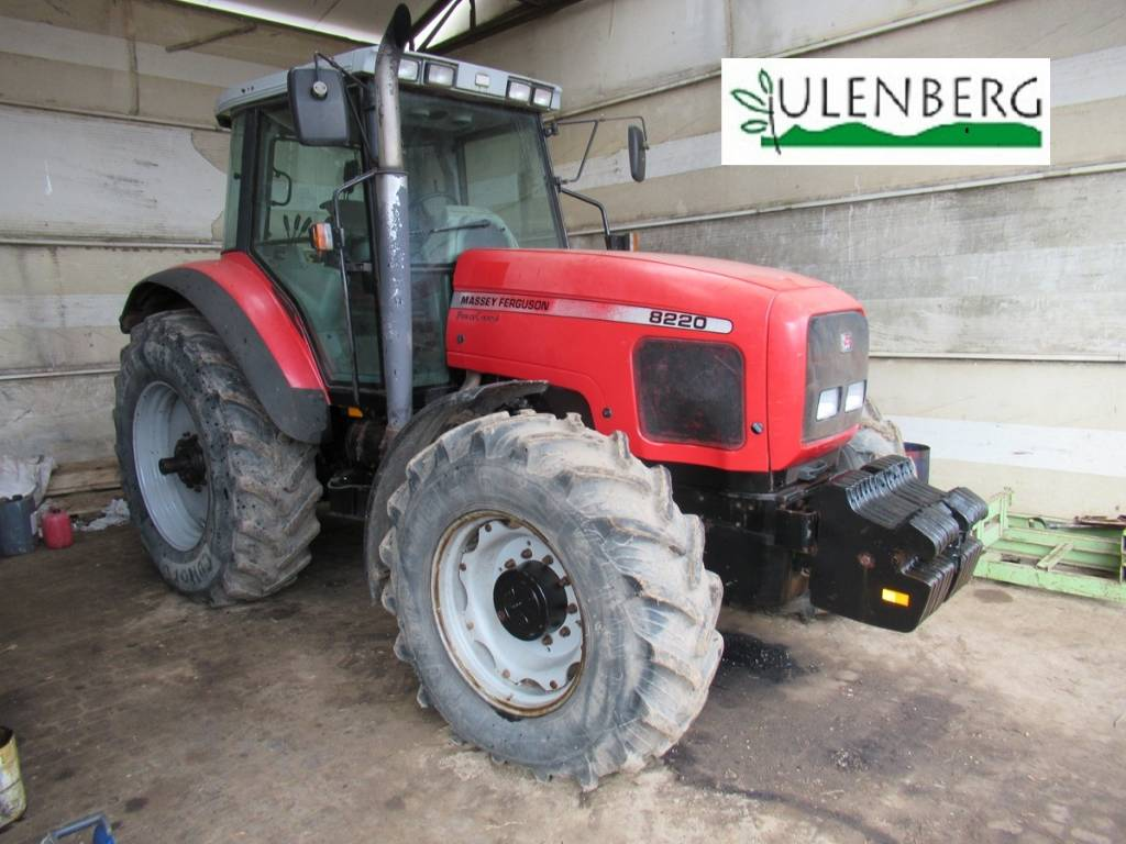 Massey Ferguson 8220, Traktory, Maszyny rolnicze