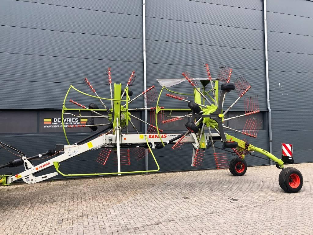 CLAAS Liner 1650 Twin, Zwadharken, Landbouw