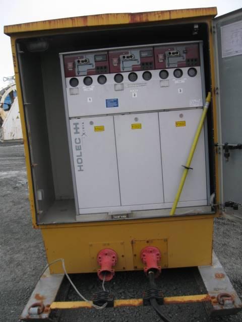 [Other] Transformator, Övrig gruvutrustning, Entreprenad