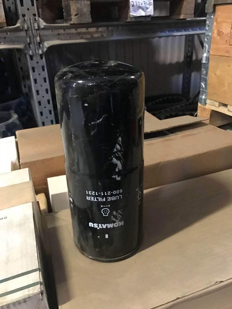 Komatsu Filter, Hydraulik, Entreprenad