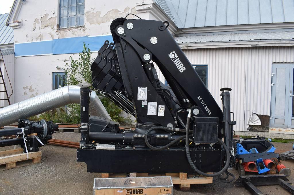 Hiab XS377E-6 Hipro + 70X-4 jib, Kappaletavaranosturit, Kuljetuskalusto