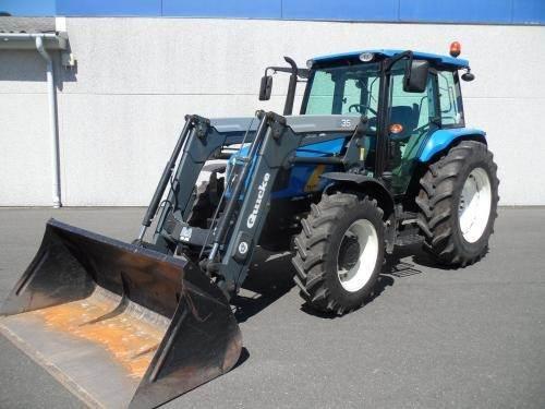 New Holland T5050 m Ålø Q35 læsser