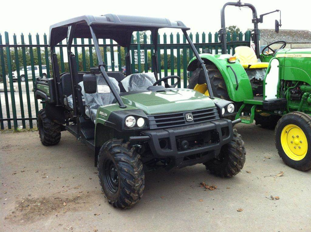 used john deere xuv 855d s4 utility machines year 2014 for sale mascus usa. Black Bedroom Furniture Sets. Home Design Ideas