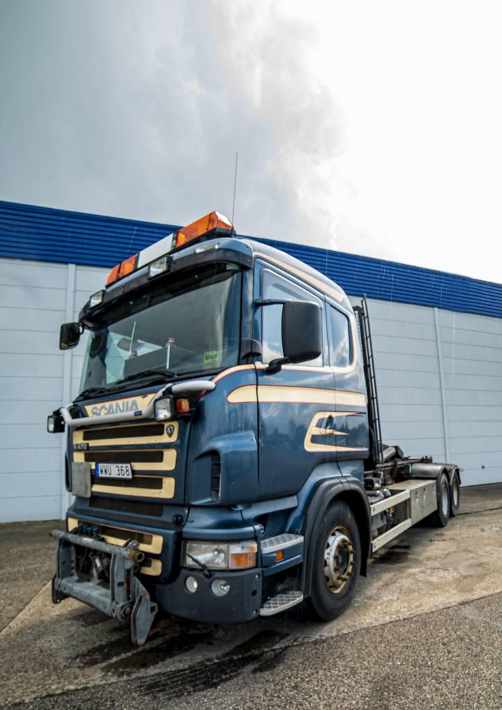 Scania R 470 LB - 2005, Lastväxlare/Krokbilar, Transportfordon