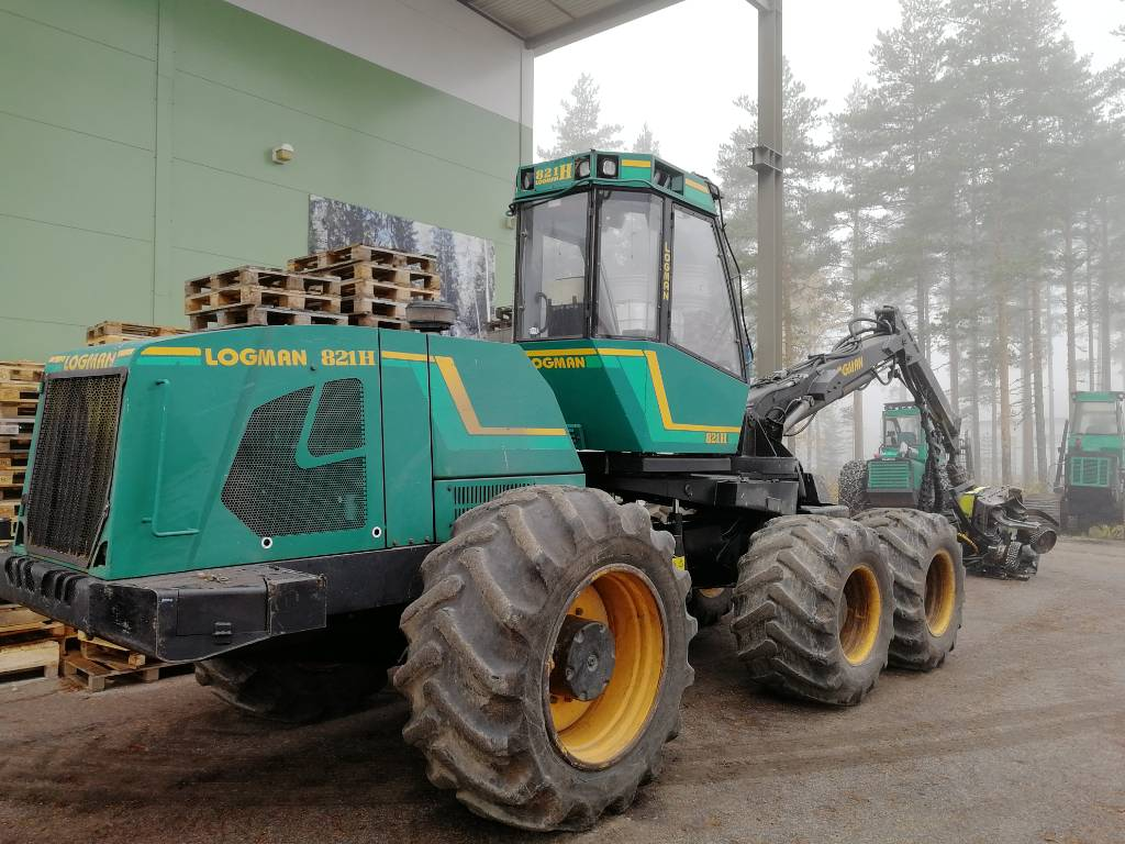 Logman 821H, Harvesters, Forestry
