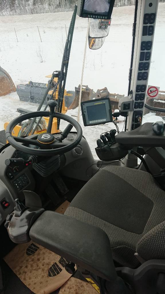 Volvo L120H, UTHYRES, Hjullastare, Entreprenad