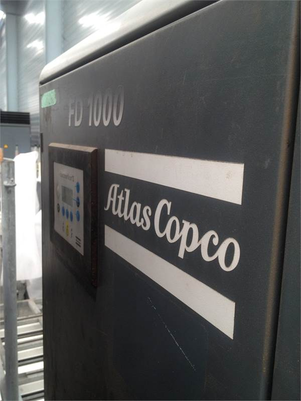 Atlas Copco FD 1000 VSD A, Compressed air dryers, Industrial