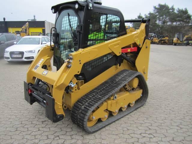 Caterpillar 259 D, Minilæsser - skridstyret, Entreprenør