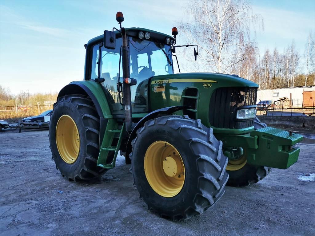 John Deere 7430 Premium, Traktori, Lauksaimniecība