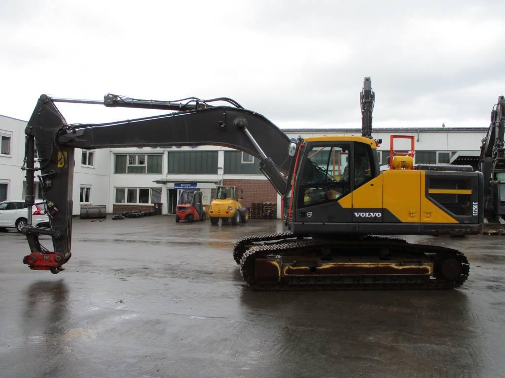 Volvo EC 250 ENL, Crawler Excavators, Construction Equipment