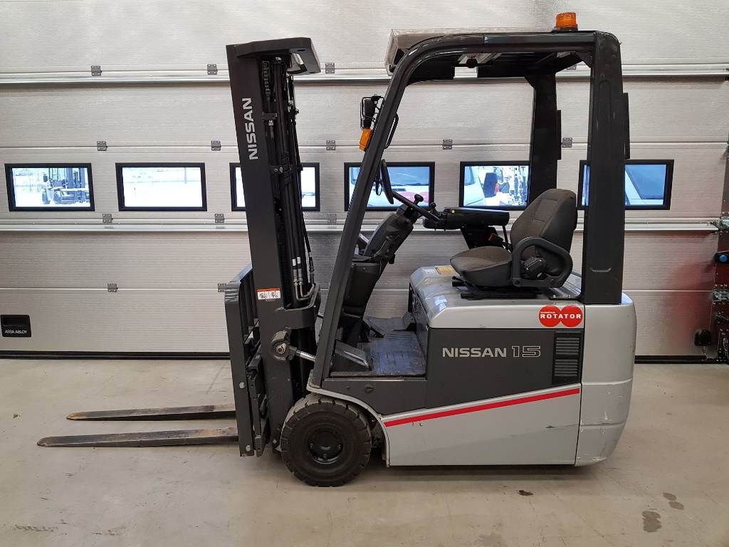 Nissan A1N1L15Q, Elmotviktstruckar, Materialhantering