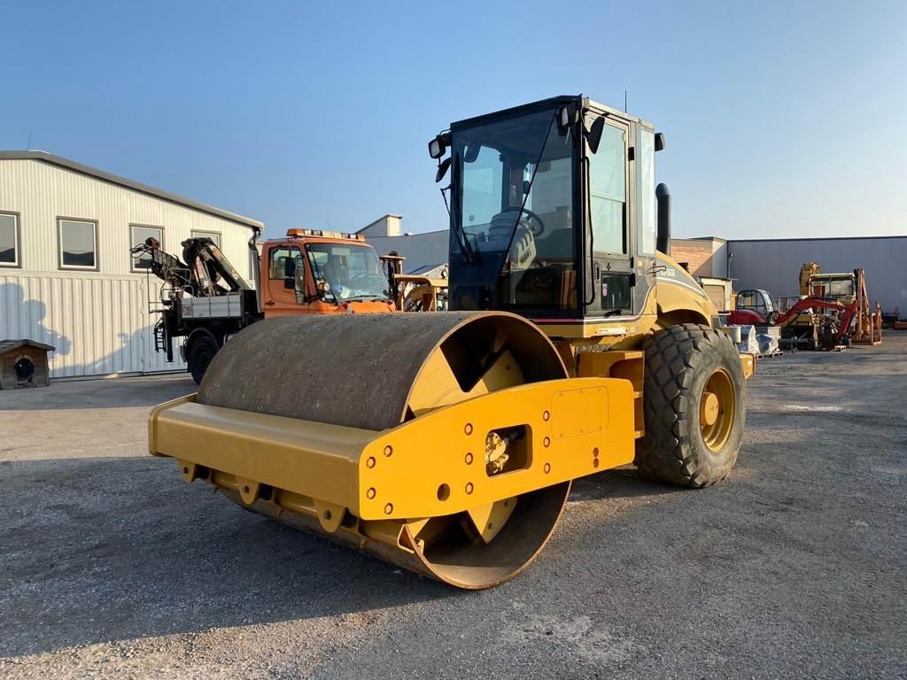 Caterpillar CS 563 E, Walzenzüge, Baumaschinen
