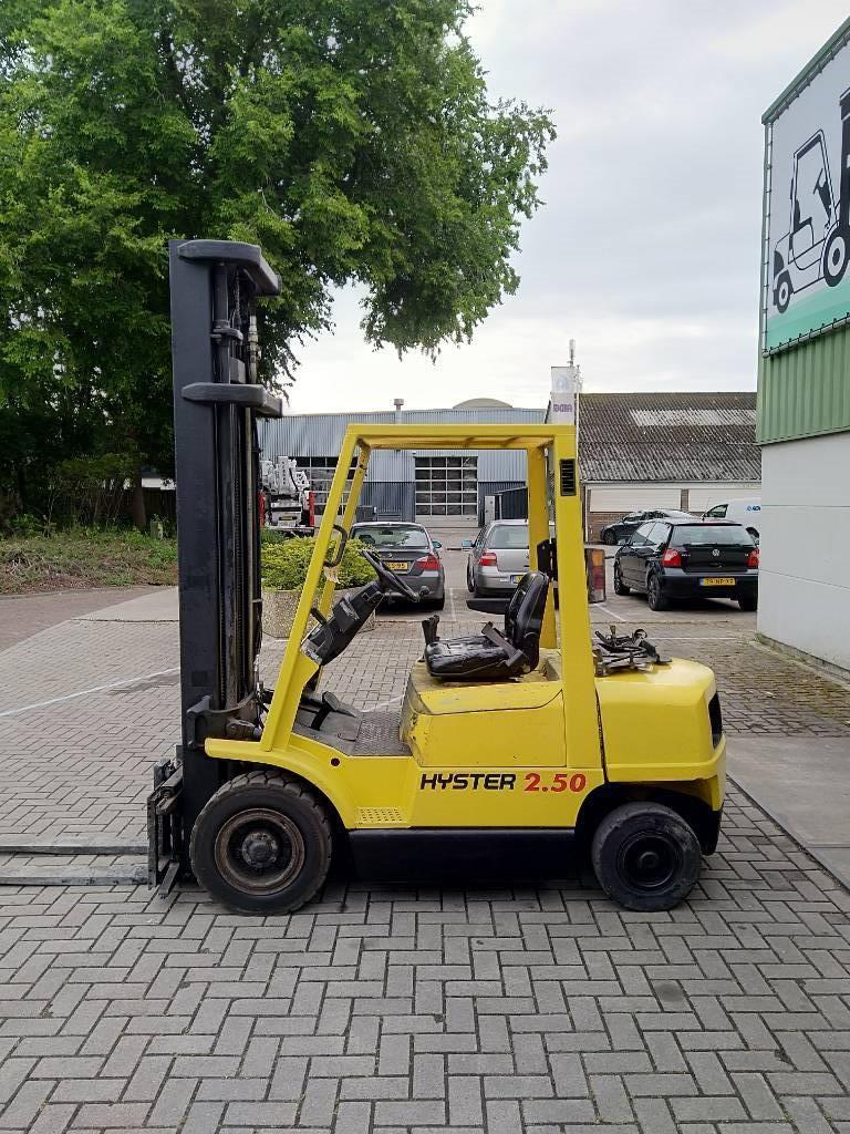 Hyster H2.50XM Heftruck, LPG heftrucks, Laden en lossen