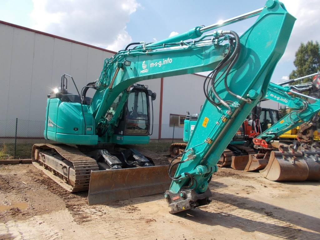 Kobelco SK 270 SRNLC-5, Raupenbagger, Baumaschinen