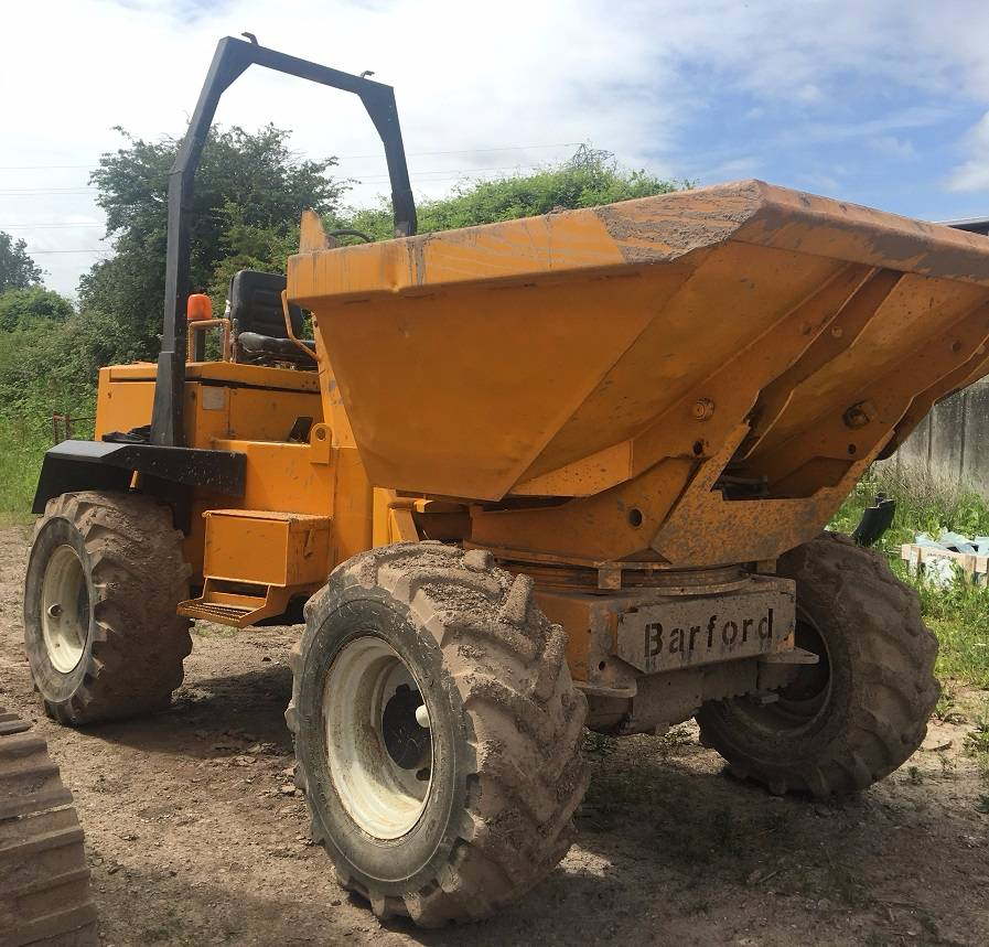 Barford SX R 6000, Site dumpers, Construction
